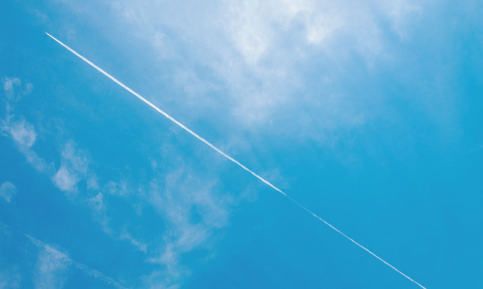 空の固定画像