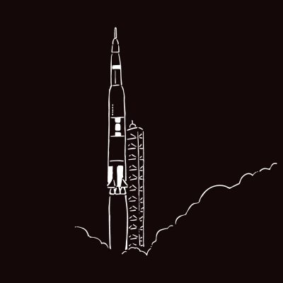 アポロ11号打ち上げ