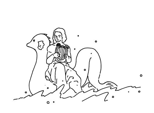 イルカとアリオン